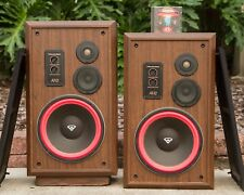 Cerwin Vega AT-12 Speaker Buy one or Both! New Surrounds!! Tested!!