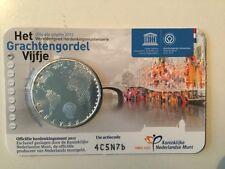 """NEDERLAND 5 EURO  2012 """"HET GRACHTENGORDEL VIJFJE"""" COINCARD"""