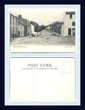 IRELAND MOVILLE MALIN STREET DIVIDED BACK POSTCARD PUBLISHED CIRCA 1907