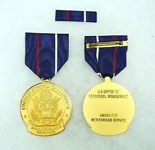 Agency, Office of Personnel Management Civilian Meritorious Service Medal, set/2