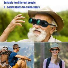 Professional Hands Free Binocular Glasses for Fishing Sports Birds Opera Tv