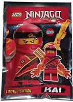 LEGO Ninjago Kai Minfigure Promo Foil Pack Set 891842