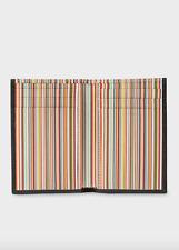 Paul Smith Wallet -BNWT Signature Multi Stripe Interior Credit Card Holder