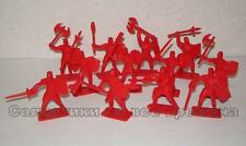 Hing Fat DGN Plastic toy soldiers 1/32 Medieval Crusade Knights set. 12pcs
