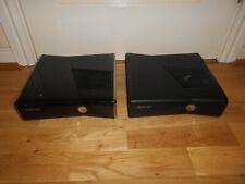 XBOX 360S 360 S X2 BLACK SLIM CONSOLES FAULTY SPARES & REPAIRS BUNDLE JOB LOT