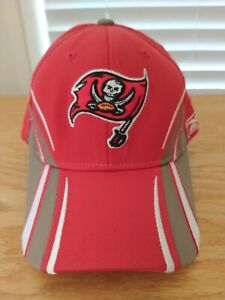 Tampa Bay Buccaneers Fit Red Cap Hat - Reebok - Size OSFA (56-58CM)