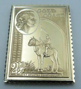 Empire Collection Silver Ingot - Gold Coast (Gulf of Guinea Ghana) 2 1/2d 1952