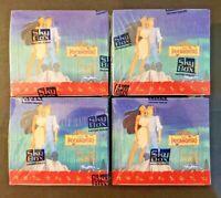 1995 Skybox Disney's Pocahontas Cards - 4 Factory Sealed Jumbo Box Lot!