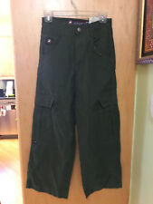 FLAMEHEAD USA CARGO/COMBAT PANTS NWT $38 BOYS 10 GREEN COTTON/NYLON