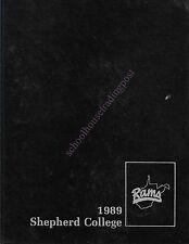 College Yearbook Shepherd College Shepherdstown WV Cohongoroota 1989