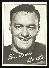 1961 TOPPS CFL FOOTBALL #69 TOM MORAN VG-EX MONTREAL ALOUETTES TIGER CATS
