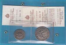 San Marino serie 2 medaglie grande FORMATO SUI Antichi sigilli dello Stato 1972