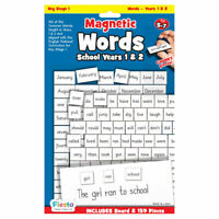 Magnetic Words for Years 1 & 2 - Magnetic Set - Fun daily educational activity