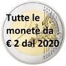 Tutte le monete commemorative da 2 Euro 2020