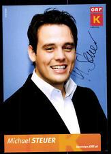 Michael Steuer ORF Autogrammkarte Orignial Signiert # BC 51584