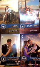 Harlequin Romance Montana Mavericks 2015 Four pack  paperback set 213A