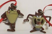 Warner Brothers Taz Tasmanian Devil Artesian 2 Pc. Ornament Set