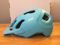 POC Axion SPIN (CPSC) Helmet Kalkopyrit Blue Matt XS/ Small 51-54cm. New!
