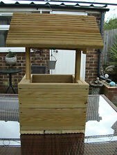 Large wishing well garden planter for sale free postage in the uk