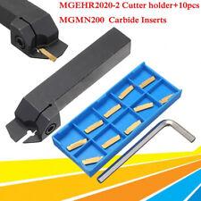 MGEHR2020-2 Bohrstange Drehmei�Ÿel Mit 10 Stück MGMN200 Wendeschneidplatten Set