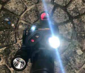 Element PEQ-15 LA5 Upgrade Version LED Light Red / IR Laser Module Airsoft Black