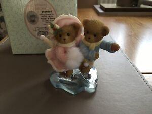 CHERISHED TEDDIES MONIKA & JOERG (GLIDING THROUGH THE HOLIDAYS TOGETHER) 2008