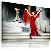 AUDREY HEPBURN  ACTRESS MODEL DANCER   Canvas Wall Art Picture AH36   MATAGA