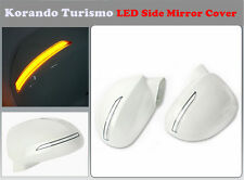 LED Light Side Mirror Cover (1 way) for Ssangyong  Korando Turismo (2012~on)///