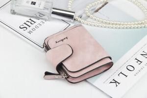 Modernes Portemonnaie kompakte Damen Geldbörse Brieftasche von Baellerry