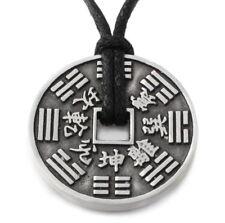 N47 Halskette Anhänger FENG SHUI GLÜCKSMÜNZE Damen Herren Necklace Pendant Coin