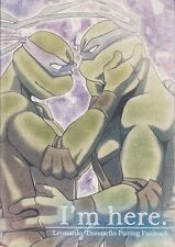 Teenage Mutant Ninja Turtles Doujinshi Dojinshi Comic Leonardo x Donatello I'm H