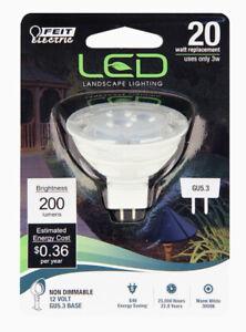 Feit Electric 20-Watt EQ MR16 Warm White LED Light Bulb, 1 Bulb