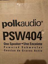 New listing Polk Audio Psw404 Blk