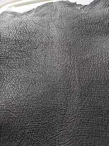 Piece of Shark Skin Genuine Leather Black Leather Size 1.1 SF