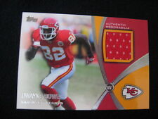 DWAYNE BOWE 2012 TOPPS MATERIAL RELIC CARD