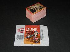 DUNE Movie © 1984 Fleer's Complete 132 Card Set + Original Wax Wrapper