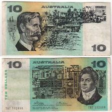 AUSTRALIA 10 DOLLARS ANNI 70 BB VF #B650