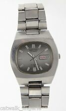 Seiko Men's 6309-5010 Gray Dial 17 Jewel Automatic Steel Vintage Watch Day Date