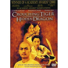 Crouching Tiger Hidden Dragon Dvd Ang Lee - Perfect