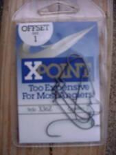 70 Daiichi Xpoint X36Z Offset Hooks- 10 Packsof 7 Sz 1