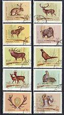 Hungary 1964 Hunting CNH Set SC # 1626-1635