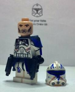 Lego Star Wars minifigure Troopers - Captain Rex Phase 2