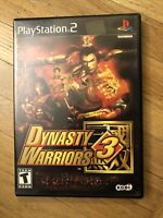 Dynasty Warriors 3 - Playstation 2 Game Complete