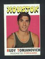 1971-72 Topps #91 Rudy Tomjanovich EXMT+ RC Rookie Rockets 127347