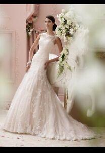 NWT Martin Thornburg Mon Cheri Wedding Dress Sz8