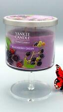 Yankee Candle Company Blackberry Cream Double Wick Home Classics 10 oz. NEW UC