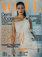 DEMI MOORE July 2003 VOGUE Magazine NATALIA VODIANOVA  LIYA KEBEDE  ANNE GARRELS