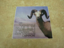 "Simon Dawes Carnivore RARE Luggage 3"" Sticker PROMO 2006"