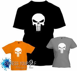 PUNISHER - T Shirt, COMIC CON , HERO  Frank Castle , Geek