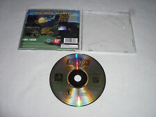 PLAYSTATION PS1 VIDEO GAME DIGIMON WORLD DIGITAL MONSTERS DISC & CASE